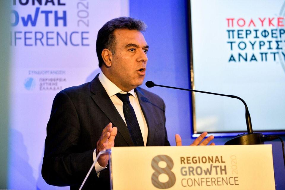 Μάνος Κόνσολας: Σχέδιο για να μπουν όλες οι Περιφέρειες της χώρας στο χάρτη της τουριστικής ανάπτυξης
