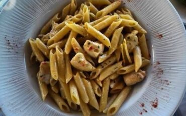 Συνταγή για πένες με κοτόπουλο