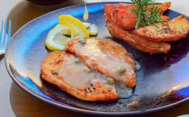 Συνταγή για κοτόπουλο λεμονάτο στην κατσαρόλα