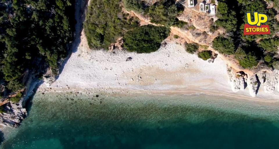 Νεκροταφείο: Η πιο ξεχωριστή παραλία της Ελλάδας βρίσκεται μόλις 15 λεπτά από το Ναύπλιο (video)
