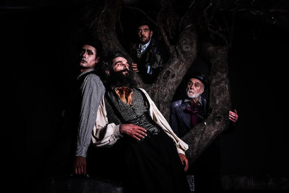 Περιμένοντας τον Γκοντό στο Θέατρο Δάσους
