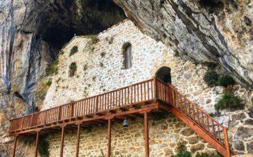 Ταξίδι στην Αμφίκλεια: Επίσκεψη στην Αγία Ιερουσαλήμ-Είναι χτισμένη σε μία μεγάλη σπηλιά!