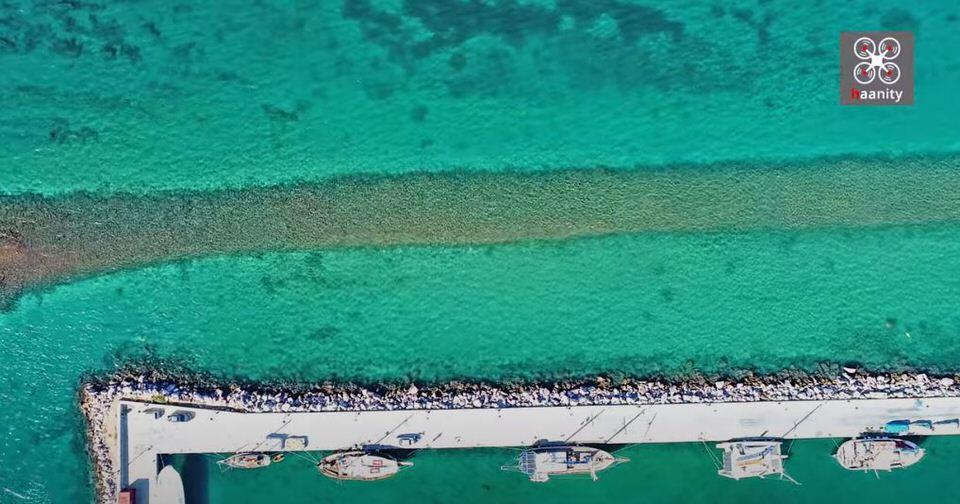 Το βυθισμένο λιμάνι της Αρχαίας Ερέτριας: Δύο λιμάνια δίπλα-δίπλα που τα χωρίζουν 2.500 χρόνια (video)