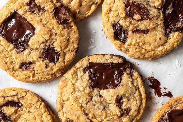 Συνταγή για μπισκότα με κομματάκια σοκολάτας!