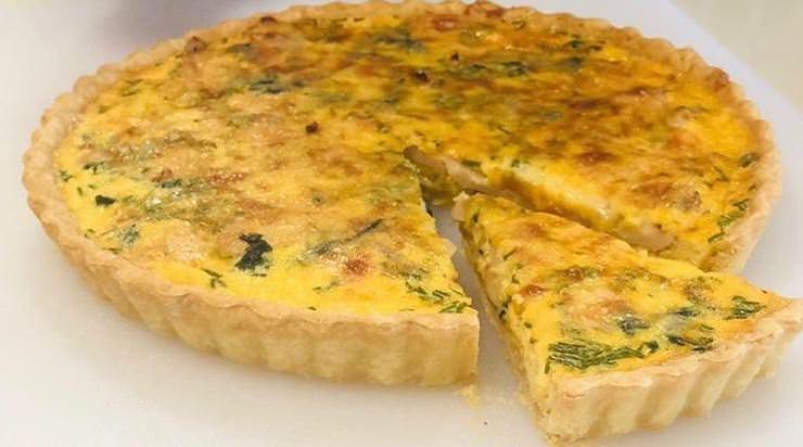 Συνταγή για τάρτα με τυριά και σπανάκι!