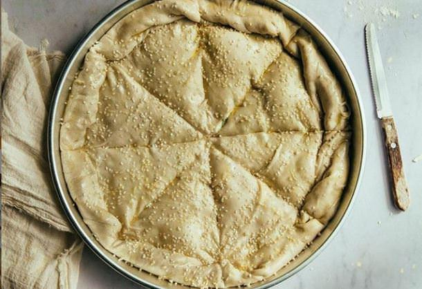 Συνταγή για τυρόπιτα χωρίς φύλλο!