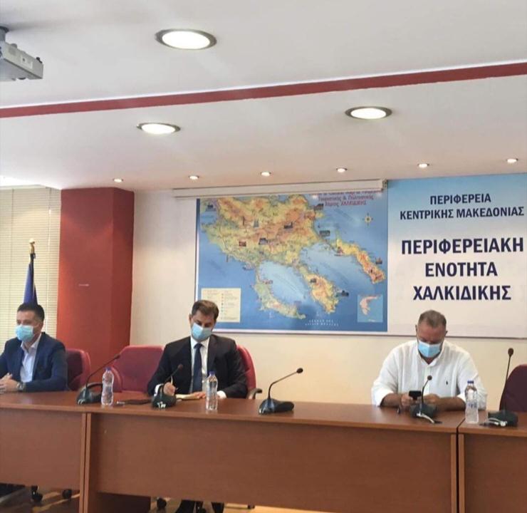 Χάρης Θεοχάρης: Σχέδιο ειδικής προβολής για τη Χαλκιδική και για τις πληγείσες περιοχές