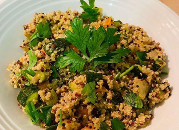 Συνταγή διαίτης: Κινόα με λαχανικά!