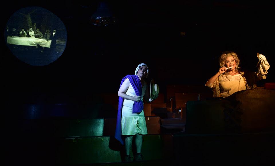 Ω! Τι ευτυχισμένες μέρες του Σ. Μπέκετ από 16 Οκτωβρίου στο Θέατρο ΤΟΠΟΣ ΑΛΛΟύ