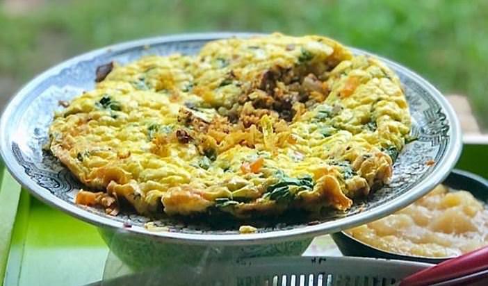 Συνταγή για ομελέτα διαίτης με λαχανικά!