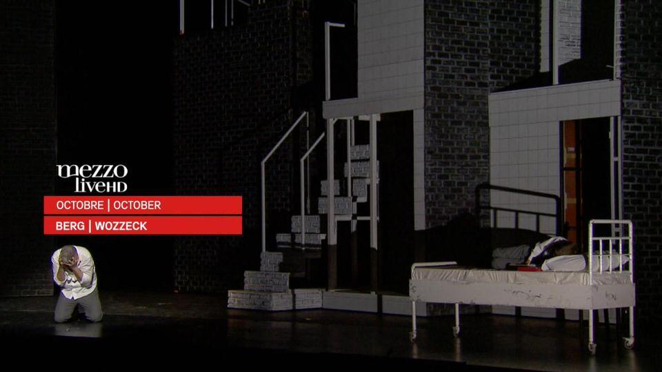 Ο Βότσεκ της Εθνικής Λυρικής Σκηνής σε πρώτη παγκόσμια τηλεοπτική μετάδοση από το MEZZO