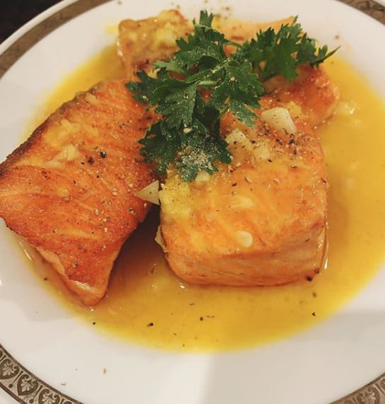 Συνταγή για diet φαγητό: Σολωμός με πορτοκάλι!