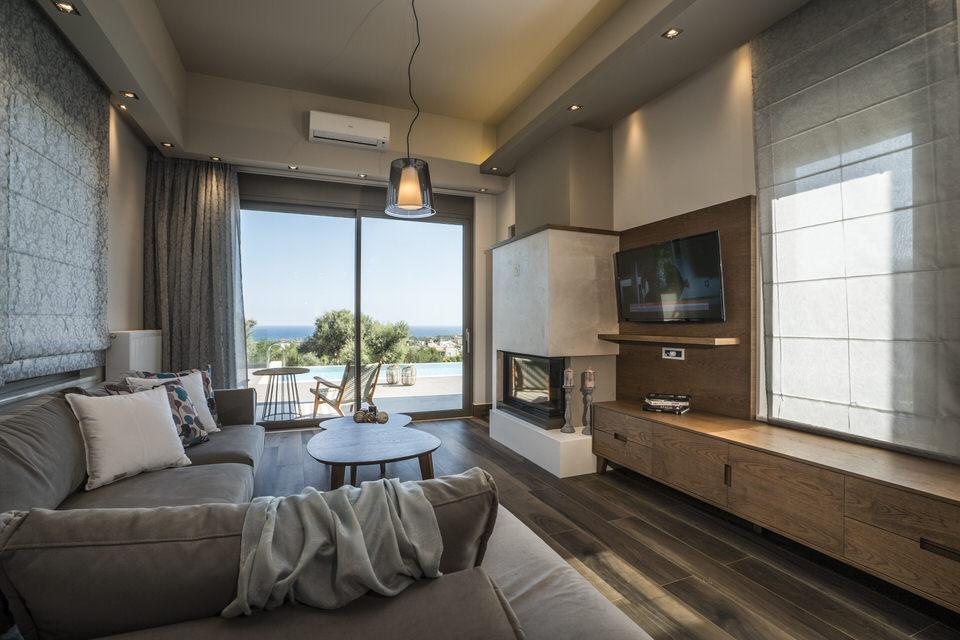 Η Villa Aphrodite από τις AA Luxury Villas στα Χανιά