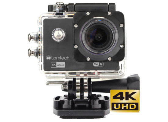 Action Camera Lamtech 4K Waterproof & Wifi