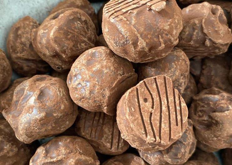 Συνταγή για σοκολατένια τρουφάκια Peppermint