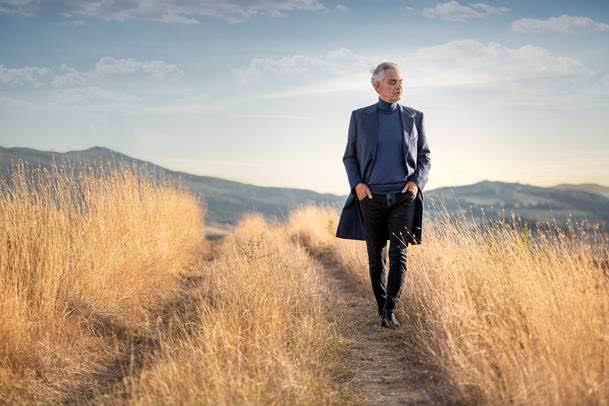 Andrea Bocelli-Believe: Κυκλοφορεί το νέο άλμπουμ του σπουδαίου τενόρου
