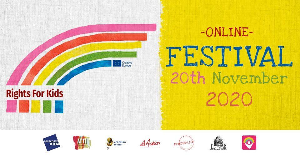 Το Θέατρο Αερόπλοιο συμμετέχει στο (διαδικτυακό) Rights4Kids Festival