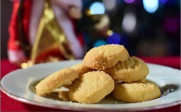 Συνταγή για Xριστουγεννιάτικα Σόρτμπρεντ (Shortbread)