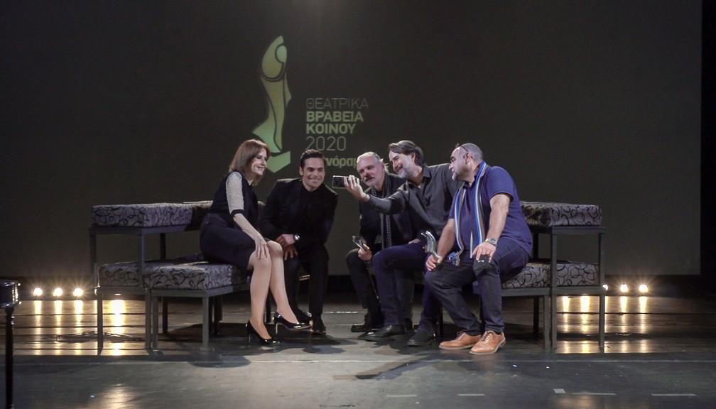 Θεατρικά Βραβεία Κοινού 2020: Η online τελετή απονομής και οι φετινοί βραβευμένοι