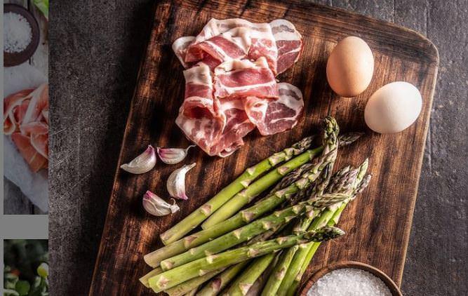 Συνταγή για σπαράγγια με αυγά