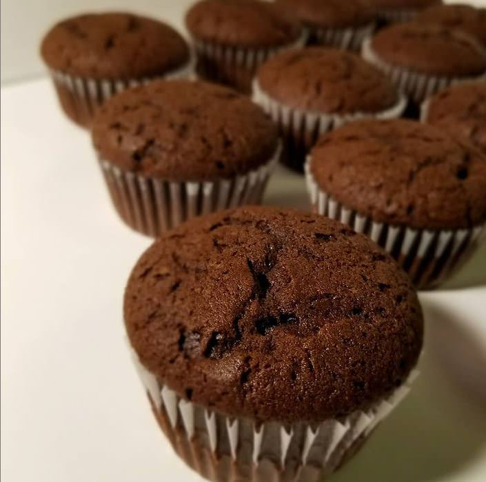 Συνταγή για cupcakes με κακάο και βανίλια