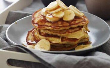 Συνταγή για pancakes μπανάνας!