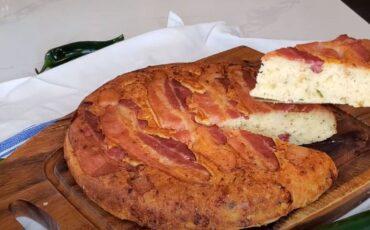 Συνταγή για μπομπότα με μπέικον