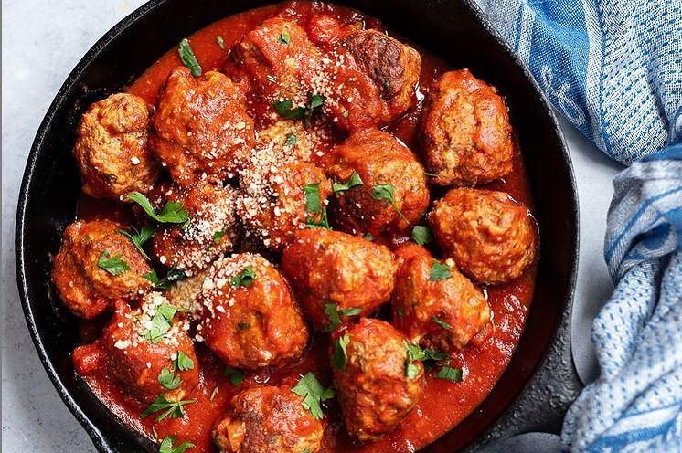 Ιταλική συνταγή: Κεφτεδάκια με κόκκινη σάλτσα