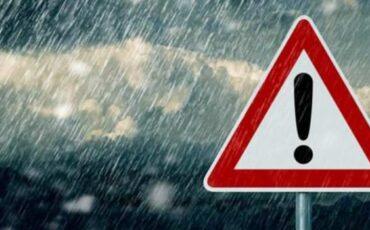 Επιδείνωση του καιρού από σήμερα με ισχυρές βροχές, καταιγίδες, χαλαζοπτώσεις και θυελλώδεις ανέμους