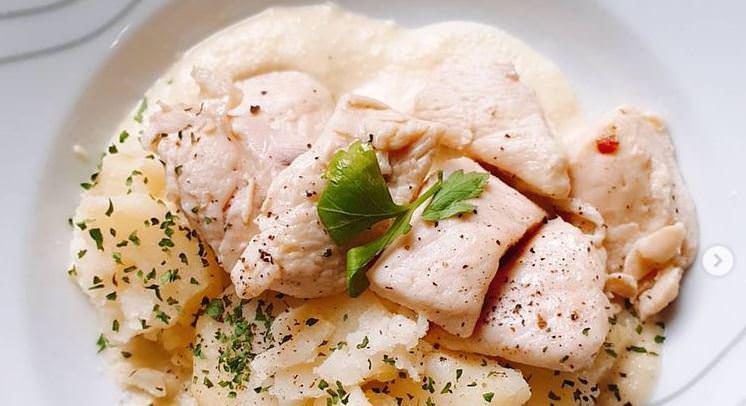 Συνταγή για κοτόπουλο με χυμό μήλου