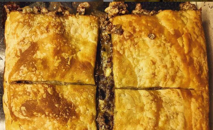 Συνταγή για κιμαδόπιτα από την Άννα Παπαπούλιου