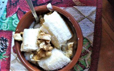 Συνταγή για porridge από την Άννα Παπαπούλιου