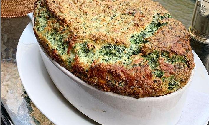 Συνταγή για το πιο νόστιμο σουφλέ σπανάκι!