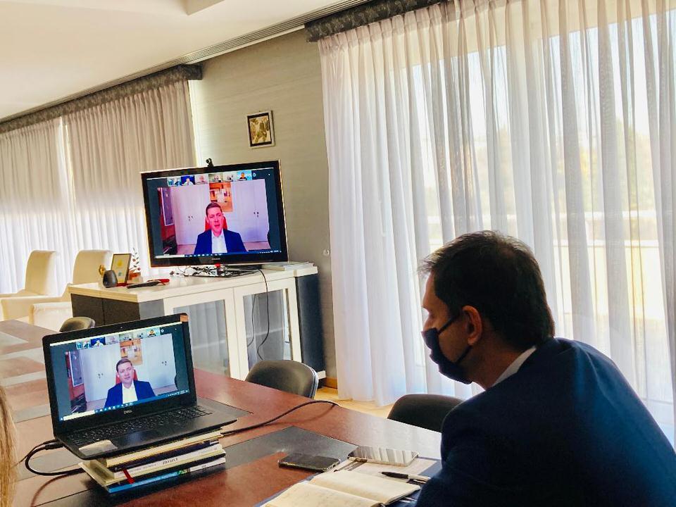 Το άνοιγμα της κρουαζιέρας συζητήθηκε σε τηλεδιάσκεψη ανάμεσα στον Υπουργό Τουρισμού και σε εκπροσώπους του κλάδου