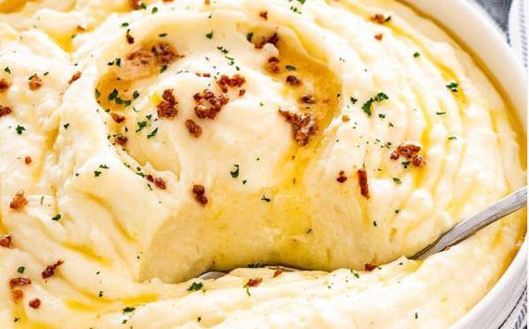 Συνταγή για μαμαδίστικο πουρέ από πατάτα!