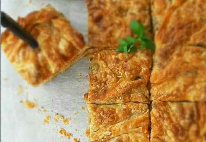 Συνταγή για πίτα με μελιτζάνες και κιμά