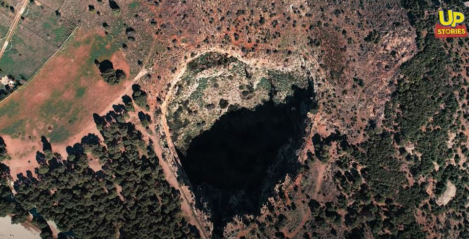 Χάος ανίκατε μάχαν: Ο γιγάντιος κρατήρας της Αττικής σε σχήμα καρδιάς (video)