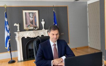 Προτάσεις του Χάρη Θεοχάρη για το άνοιγμα του τουρισμού στην έκτακτη άτυπη τηλεδιάσκεψη των Υπουργών Τουρισμού της ΕΕ