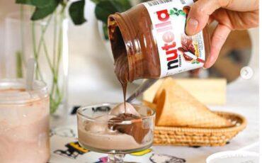 Συνταγή για παγωτό nutella με 4 υλικά