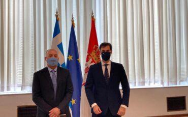 Χάρης Θεοχάρης: Οι Σέρβοι ταξιδιώτες μπορούν να εμπιστεύονται απόλυτα την Ελλάδα