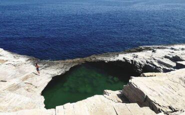 Γκιόλα: Η πιο διάσημη φυσική πισίνα βρίσκεται στη Θάσο! (video)