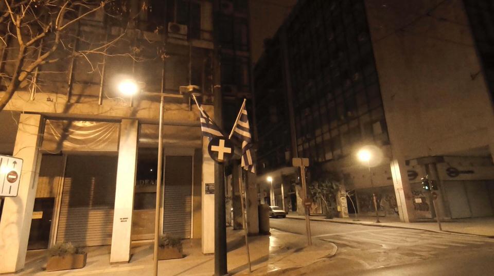 """""""11 μ.μ."""" είναι η Αθήνα τη Νύχτα του Διαμαντή Καραναστάση σε μουσική MOBY"""