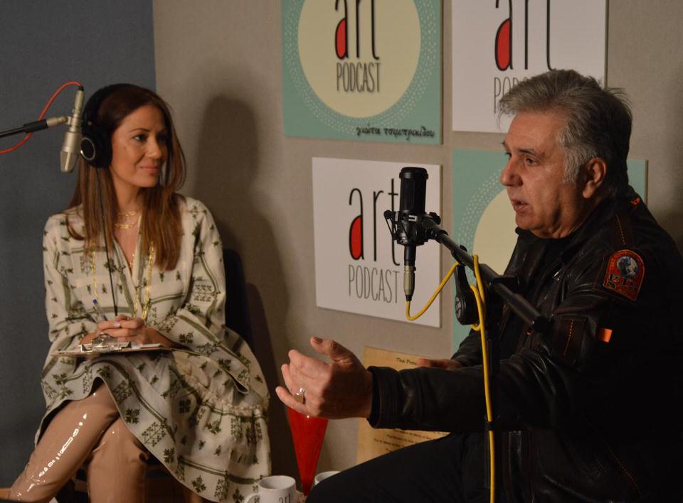 Ο Ιεροκλής Μιχαηλίδης σε μια κουβέντα με...αυτοσχεδιασμούς στο #20 Art Podcast της Γιώτας Τσιμπρικίδου