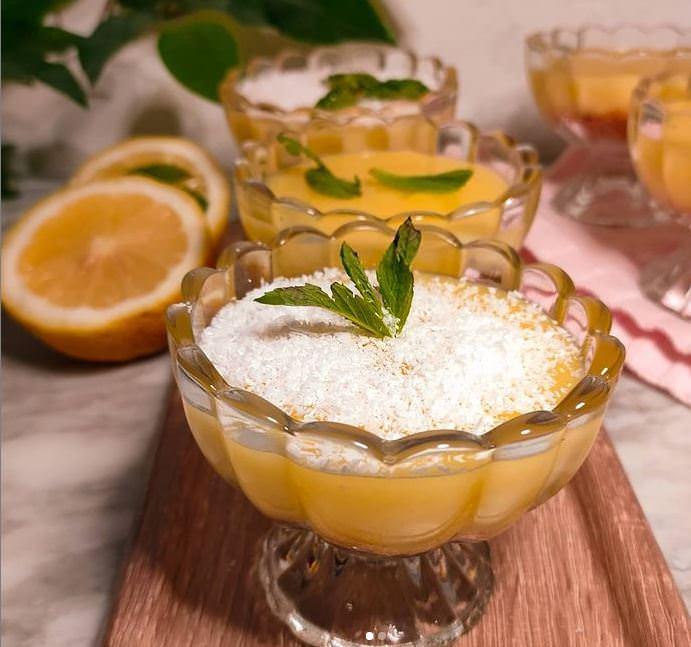 Συνταγή για σπιτική κρέμα λεμονιού!