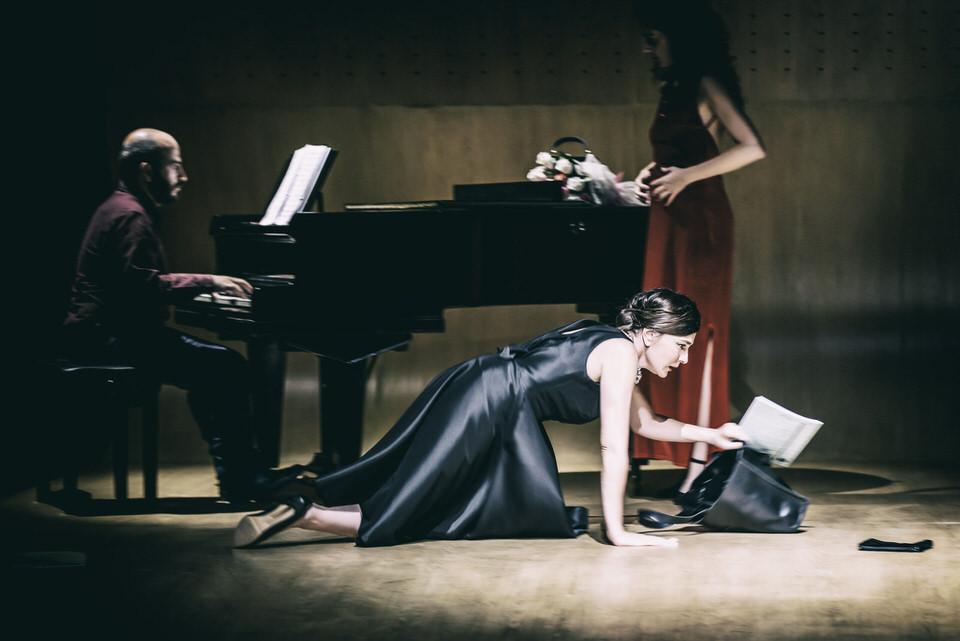 Το MASTER CLASS με την Μαρία Ναυπλιώτου σε σκηνοθεσία Ο. Παπασπηλιόπουλου στο Θέατρο Παλλάς