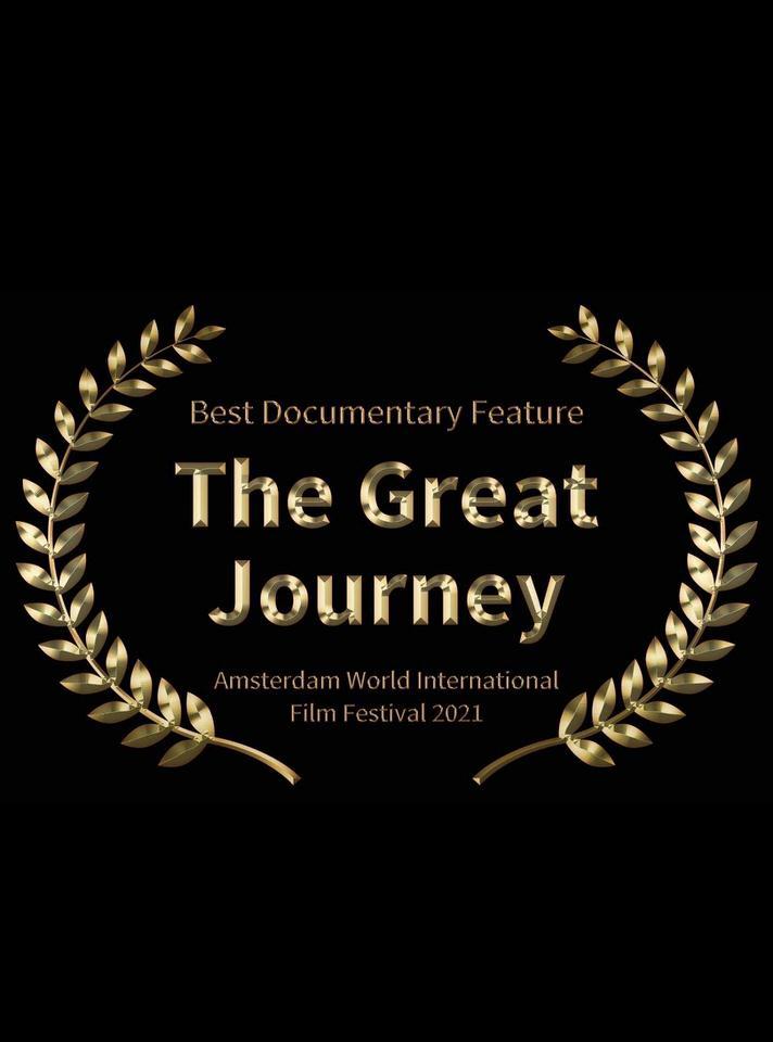 """Το """"The Great Journey"""" πήρε το 1ο Βραβείο Καλύτερου Ντοκιμαντέρ στο World International Film Festival του Άμστερνταμ!"""