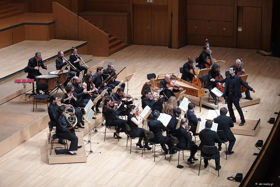 Αntonio Vivaldi «Οι τέσσερις εποχές» στον Κήπο του Μεγάρου