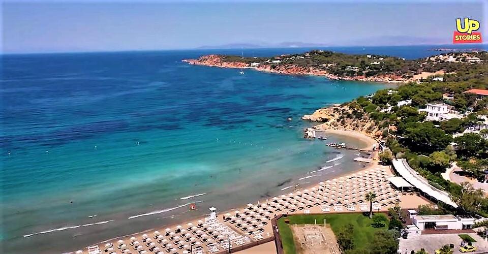 Οι Βραβευμένες με Γαλάζια Σημαία ακτές της Αττικής για το 2021 από ψηλά!