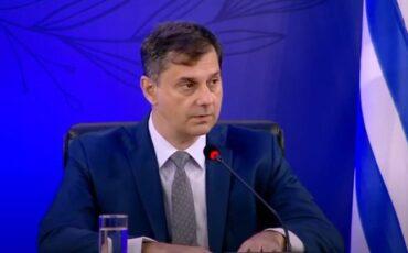 Ο Υπουργός Τουρισμού Χάρης Θεοχάρης στο Delphi Economic Forum