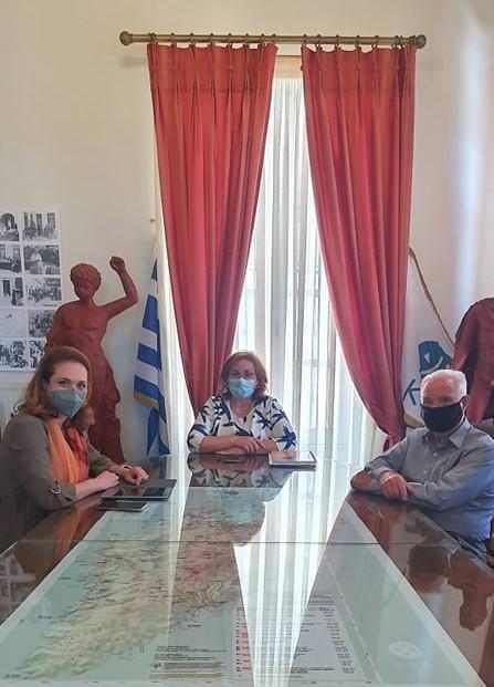 Επίσκεψη της Γ.Γ. Τουριστικής Πολιτικής και Ανάπτυξης Βίκυς Λοΐζου στην Κέα